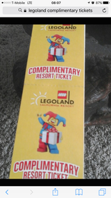 8 Legoland tickets expires December 2017 in Vista, California