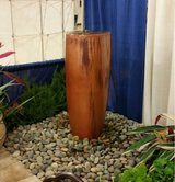 Water feature pot in Conroe, Texas