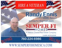SEMPER FI HOMES RANDY ENNIS in Oceanside, California