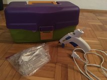 Craft Tackle Box & Glue Gun - 120V in Ramstein, Germany