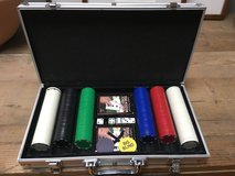 Poker set in carrying case in Bolling AFB, DC
