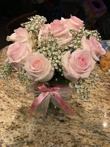 Pink roses bouquet in Oceanside, California