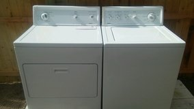 Kenmore washer and electric dryer in Alamogordo, New Mexico