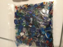 Bag of glass from glass factory in Okinawa, Japan