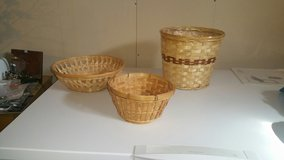 3 VARIOUS SHAPED BASKETS in Fort Knox, Kentucky