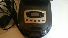 PORTABLE AM/FM CD PLAYER WITH CASE in Fort Knox, Kentucky