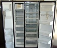 26 CU. FT. GE PROFILE ARCTICA SIDE-BY-SIDE REFRIGERATOR(FINANCING) in Camp Pendleton, California