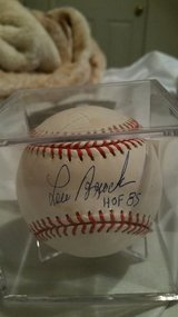 Lou brock autographed  baseball in Fort Leonard Wood, Missouri