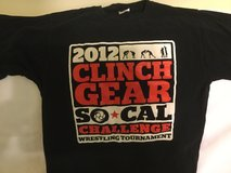 CLINCH GEAR SO. CAL CHALLENGE 2012 WRESTLING T- SHIRT SIZE LG. in Okinawa, Japan