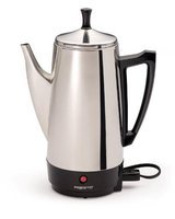 NEW Presto 02811 12-Cup Stainless Steel Coffee Maker in Glendale Heights, Illinois