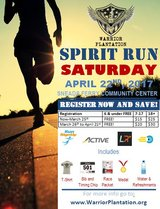 Spirit Run in Camp Lejeune, North Carolina