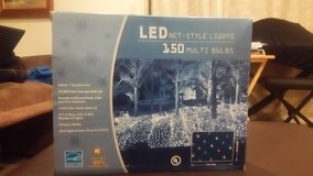CHRISTMAS LED NET-STYLE 150 MULTI BULBS - (COLOR) - CURRENTLY HAVE 4 BOXES - REDUCED $20 TO $15 ... in Okinawa, Japan