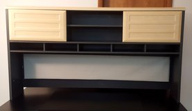 PRICE DROP Large Storage Hutch for a desk, table or credenza- Or Entertainment Stand Brand New in Elgin, Illinois