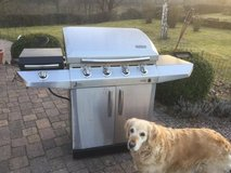 BBQ Grill infrared 499.00 new 4 burner with side burner made by charbroil in Ramstein, Germany
