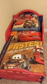 LIghtning McQueen Car Toddler Bed in Valdosta, Georgia