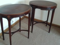 Pair of Sheraton Marquetry Tables in Tinley Park, Illinois