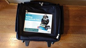 Brand new Rolling Scrapbook tote in Naperville, Illinois