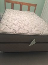 Almost new full size mattress and box spring in DeKalb, Illinois