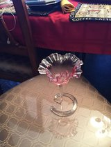 Pink / Fenton Candy Dish in Fort Campbell, Kentucky