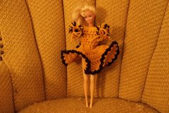 Barbie Doll Cheerleader Crochet Outfit+ in Belleville, Illinois