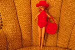 Barbie Doll Swim Suit Hat and Bag Outfit in Belleville, Illinois