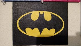 Batman logo painting in Camp Pendleton, California