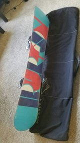 Snowboard with Bindings and Bag in Montgomery, Alabama