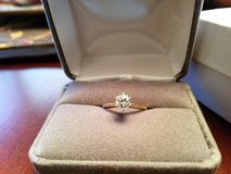 Diamond Solitaire Engagement Ring in Warner Robins, Georgia