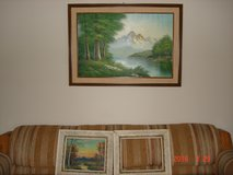 42 x 31 mountain/trees picture in Orland Park, Illinois