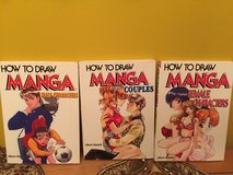 Lot of books How To Draw Manga Characters in Morris, Illinois