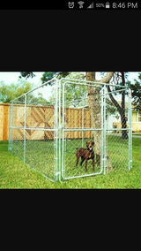 Large metal dog crate in Vacaville, California