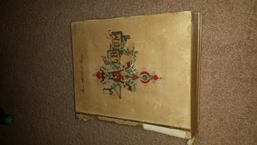 Early 1900s Antique Cabinet Card Photo Album in Macon, Georgia