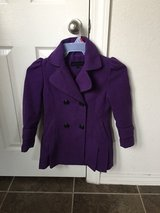 Girls Purple Coat in Fort Bliss, Texas