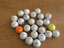 Used golf balls in Fort Bliss, Texas