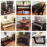 Custom Handmade Farm Table in Kingwood, Texas