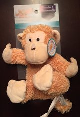 Cozy Hugs freezable & microwavable plush monkey in Naperville, Illinois