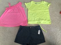 Girls Old Navy shirts and shorts 10/12 in Plainfield, Illinois