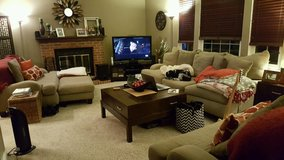 Living room set couch/2 loveseats in Fort Carson, Colorado
