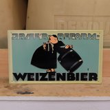 JREE'R Reform Weizenbier German Beer Sign Collectible in Ramstein, Germany