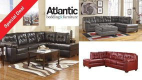 Leather sectional! 3 colors! in Camp Lejeune, North Carolina
