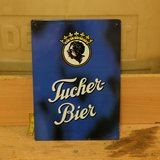 Tucher Bier German Metal Beer Sign in Ramstein, Germany