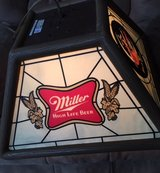 Miller High Life hanging bar light in Yorkville, Illinois