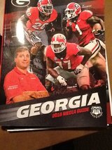 UGA Football Media guides from 1996 to 2016 in Macon, Georgia