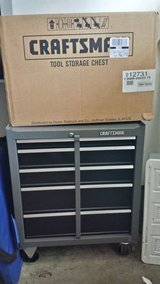 Tool chest set with top tool box - sears craftsman in Bartlett, Illinois