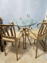 Glass pub table with 2 chairs in Morris, Illinois