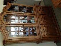 Dining table and China Hutch in Fort Carson, Colorado