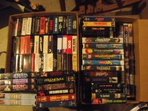 120+ VHS Tapes - Movies, Disney, etc. in DeKalb, Illinois