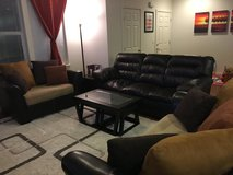 *REDUCED* Living Room Couches and Coffee Tables in Fort Lewis, Washington