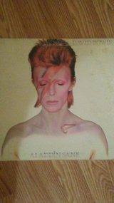 "David Bowie  "" Aladdin Sane""  1973 LP in Alamogordo, New Mexico"
