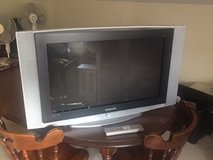 "Samsung 30"" TV with remote in Ramstein, Germany"